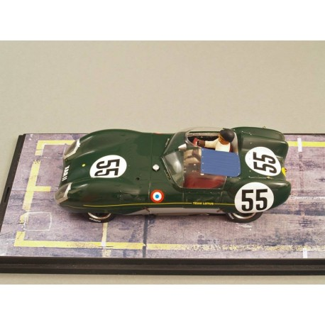 Slot kit 1/24 Lotus XI Le Mans 1957 n°55, with chassis