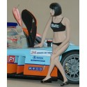 Figure Grid Girl, curt hair, 1:24