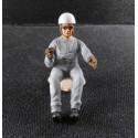 Figurine pilote année 50, 1/24