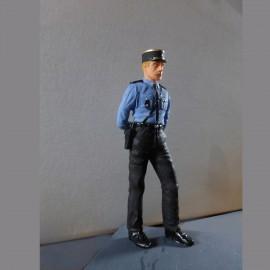 Figurine gendarme année 60, 1/24 Profil 24
