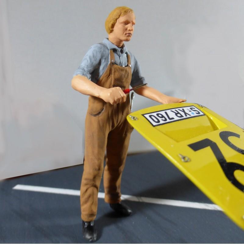 figurine mecanicien annee   profil models