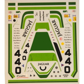 Decals Jaguar XJR5 Le Mans 1984/1985