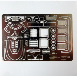 Ferrari 512 S Le Mans 1970 photoetched part, 1/43