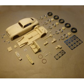 1/24 Aston Martin DB2 n°24/25 Le Mans 1951 model kit car, profil24-models