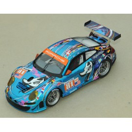 1:24 Porsche 997 n°81 Le Mans 2011 model kit car Profil 24