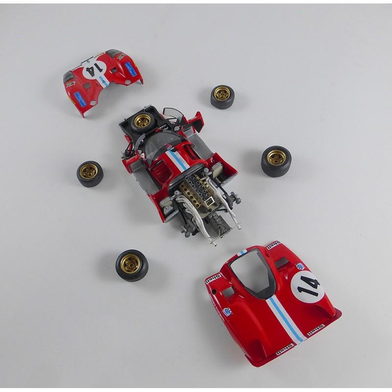 1/43 Kit Ferrari 512 S Scuderia Filipinetti N°14/15 Le