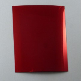 Adhesif rouge chrome