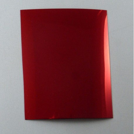 Adhesif rouge chrome, Profil 24
