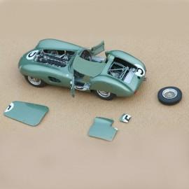 1/24 kit Aston Martin DBR1 Le Mans 1959, profil 24 mdoels