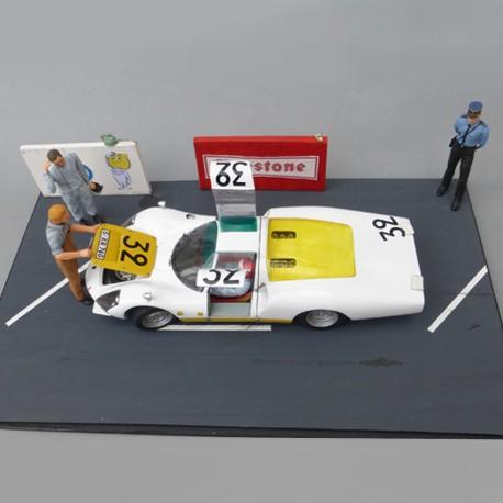 1/24 kit Porsche 906 LH Le Mans 1966, profil 24 models