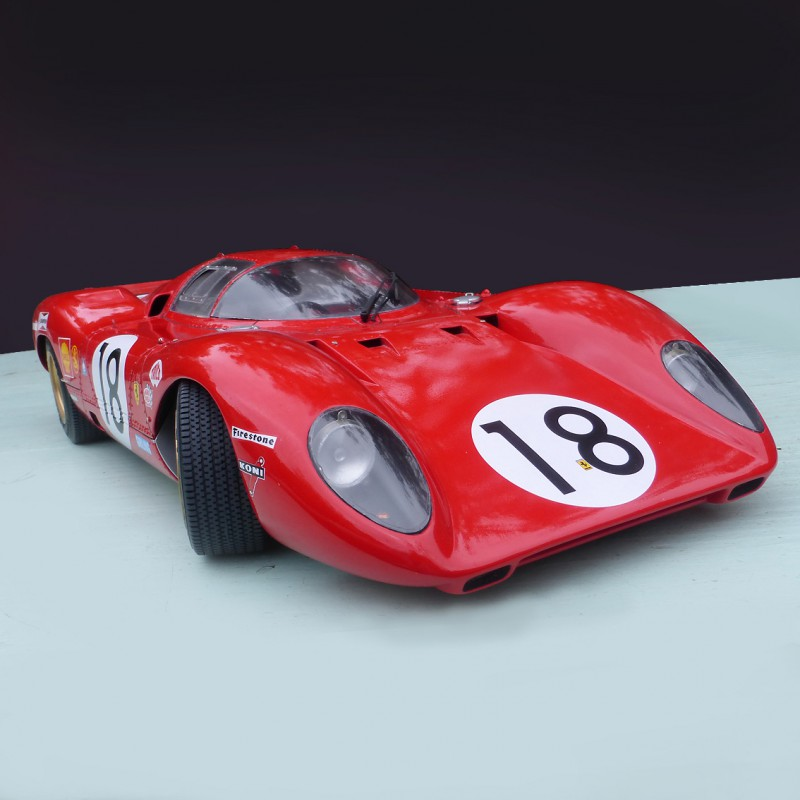 new model car kit releasesFerrari 312 P Le Mans 1969 model car kit 124