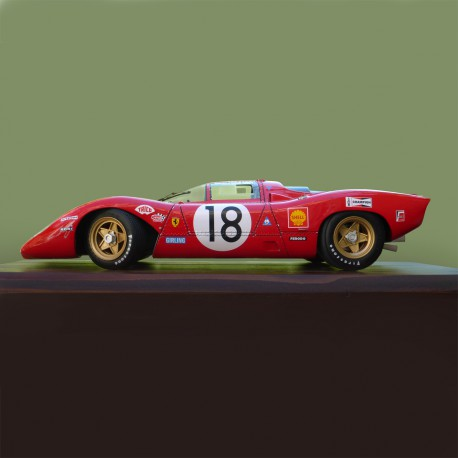 1/12 Ferrari 312 P Le Mans 1969 model kit car Profil 24