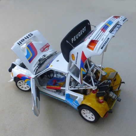 1/24 Peugeot 205 T16 Evo 2 Tour de Corse/Monte Carlo 1986 model kit car Profil 24