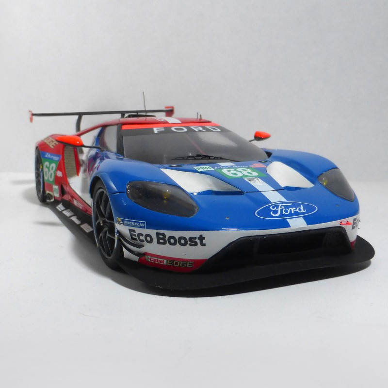 ford gt le mans daytona 2016 model in 1 24. Black Bedroom Furniture Sets. Home Design Ideas