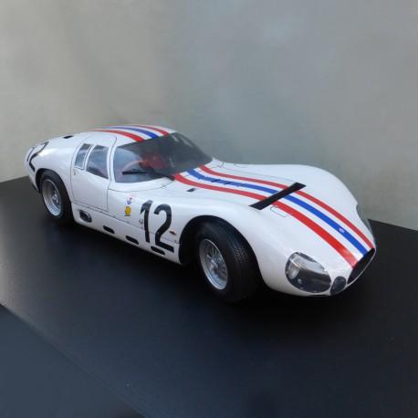 1/12 Maserati 151-4 Essai Le Mans 1965 model kit car Profil 24