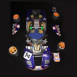 1/24 Mc Laren F1 GTR Gulf  n°24 & 25, profil 24Le Mans 1995