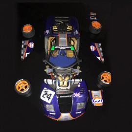 Mc Laren F1 GTR Gulf n°24 et 25 Le Mans 1995