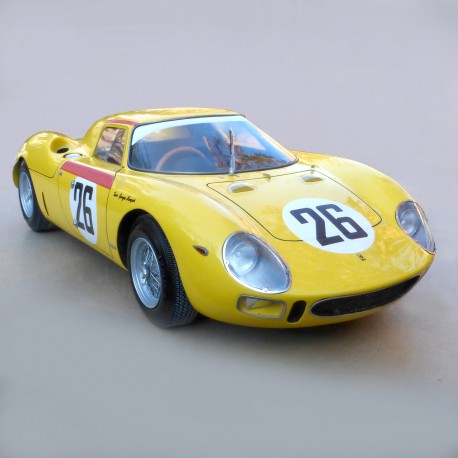 1/12 Ferrari 250 LM Le Mans 1965 n°26 model kit car Profil 24