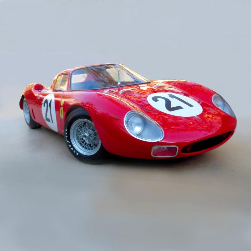 Ferrari 250 LM Le Mans 1965 N°21 In 1/12 Scale In Kit