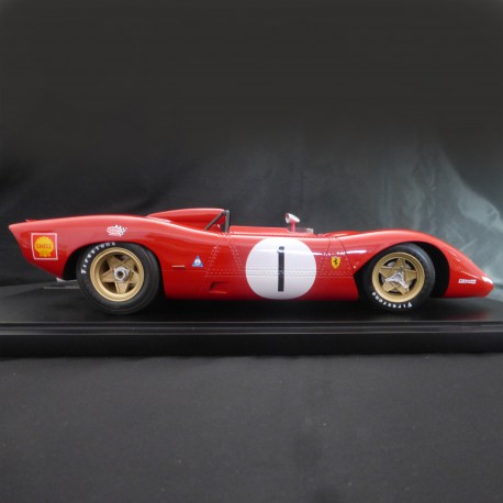 1/12 Ferrari 312 P Spyder 1969 model kit car Profil 24