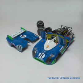 1/43 Matra 670 1st Le Mans 1973 model kit car Profil 24