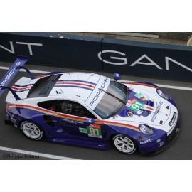 """1/24 Porsche 911 RSR n°91 2nd GT Pro """"Rothmans"""" Le Mans 2018"""