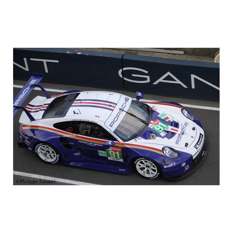 """1/24 Porsche 911 RSR N°91 2nd GT Pro """"Rothmans"""" Le Mans"""