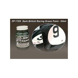 Paint Dark British Racing Green Jaguar D Type  Le Mans 1955, 60 ml