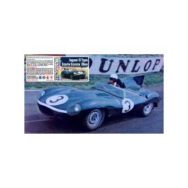 Jaguar D Type Ecurie Ecosse Blue Paint Le Mans 1956/1957, 60 ml
