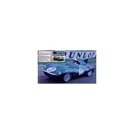 Jaguar D Type Ecurie Ecosse Blue Paint Le Mans 1956/1957, 60 ml