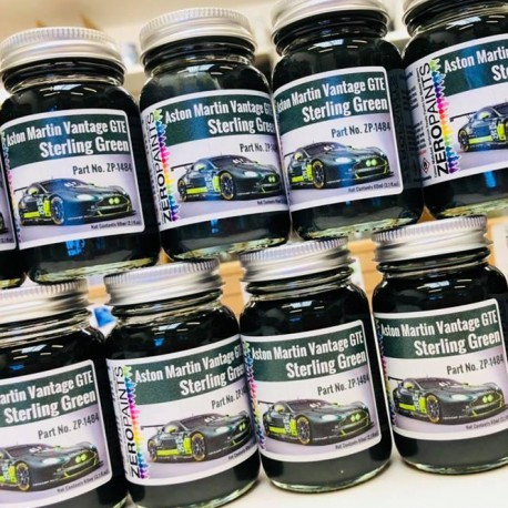 Sterling Green Aston Martin GTE Le Mans 2017 Paint, 60 ml