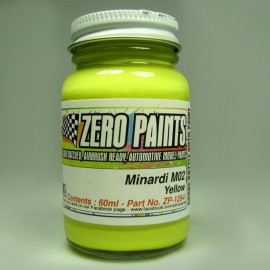 Minardi M02 Yellow Aston Vantage GTE Le Mans 2017 Paint, 60 ml