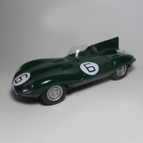 1/24 Jaguar Type D Vainqueur Le Mans 1955