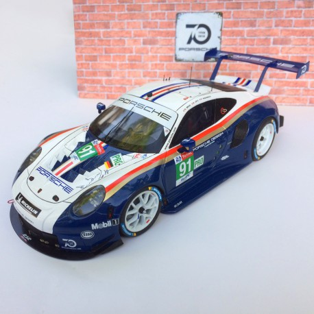 1/24 Porsche 911 RSR n°91 Le Mans 2018