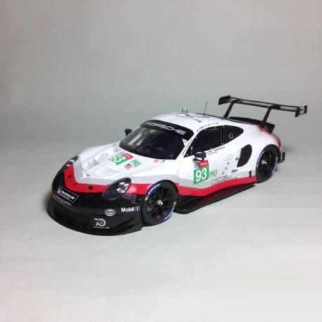 1/24 Porsche 911 RSR n°93/94 Le Mans 2018
