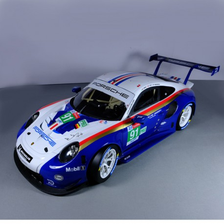 1/12 Porsche 911 RSR n°91 Le Mans 2018 model kit car Profil 24