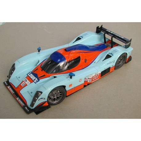 1:24 Aston Lola Sebring 2010 model kit car Profil 24