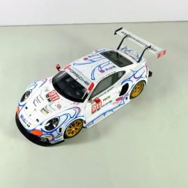 """1/24 Porsche 911 RSR n°911/912 1st GT Pro """"Mobil 1"""" Petit Le Mans 2018"""