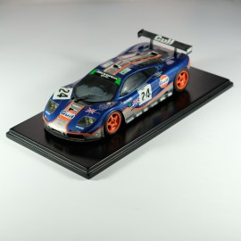 1/24 Mc Laren Gulf Le Mans 1995 model kit car profil 24