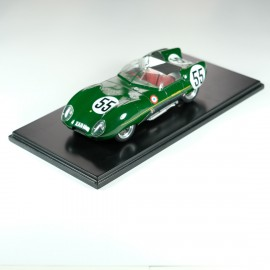 1:24 Lotus XI Le Mans 1957 n°55 model kit car Profil 24