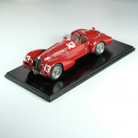 1:24 Alfa 2900 B 1st Mille Miglia 1937 model kit car Profil 24