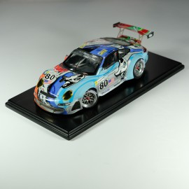 1:24 Porsche 997 Le Mans n°80 Le Mans 2007 model kit car Profil 24
