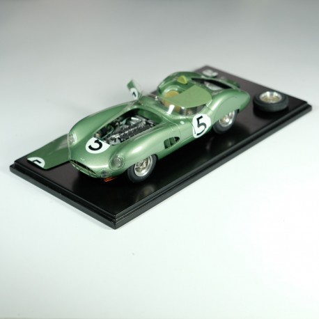 1/24 kit Aston Martin DBR1 Le Mans 1959, model kit car, profil 24 mdoels