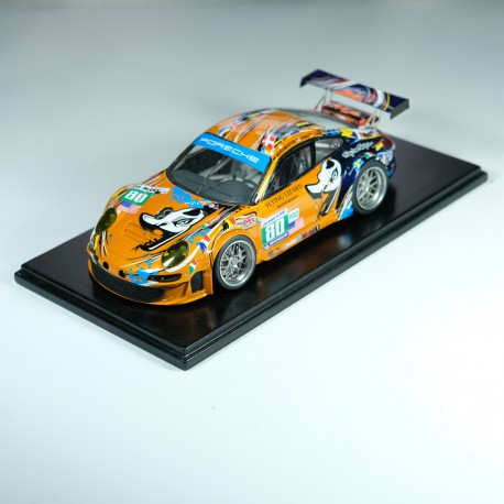 1:24 Porsche 997 n°80 Le Mans 2011 model kit car Profil 24