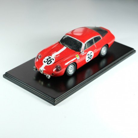 1/24 Alfa Romeo Giulietta SZ Le Mans 1963 n°36 model kit car, Profil 24 models