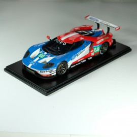 1:24 Ford GT Le Mans 2016 - Daytona 2015 model kit car Profil 24