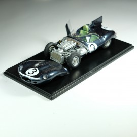1:24 Jaguar Type D Le Mans 1957 model kit car Profil 24
