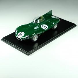 1/24 Jaguar D Type Long Nose n°6 , 1st Le Mans 1955, Profil 24