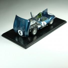 1/24 Jaguar Type D Short Nose n°4 Vainqueur Le Mans 1956, Profil 24