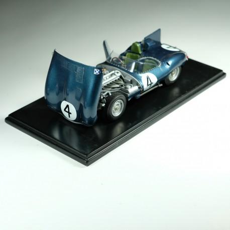1/24 Jaguar Type D n°4 1st Le Mans 1956 model kit car Profil 24